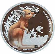 Best Reviews Australia 2010 Bush Babies KANGAROO 12 Oz Proof Silver Coin