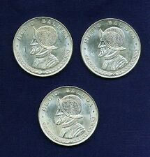 PANAMA  1961 12 BALBOA SILVER COINS BRILLIANT UNCIRCULATED LOT OF 3 Compare Prices