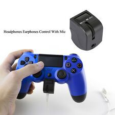 Controller Headphone Headset Earphones Mic Adapter for Sony PlayStation 4 PS4 Cheap