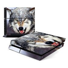 Skin Decal Cover Sticker for Sony PlayStation 4 PS4  Wolf Reviews