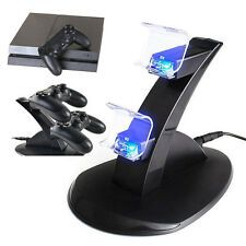 Buy PlayStation Sony PS4 Controller Dual USB LED Charger Dock Station Charging Stand Online