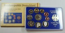 2000 Germany 10 Coin Proof Set F In Original Mint Packaging On Line