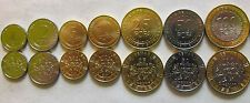 Deals For Central African States set of 7 coins 2006 125102550100 francs UNC