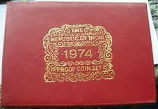 Price Compare India 1974 Mint Proof Set of 10 CoinsWith Silver CoinRare