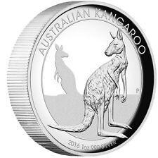 Cheap Price 2016 Australian Kangaroo 1 oz Dollar 1 Silver Proof High Relief Coin Australia