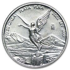 Cheapest 2002 Mexico 120 oz Silver Libertad BU  SKU 83259
