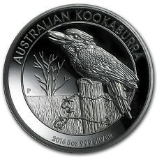 2016 Australia 5 oz Silver Kookaburra Proof High Relief  SKU 102910 Cheap