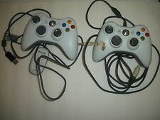 Best Price for 2 PC WIRED AND WIRELESS GENUINE XBOX 360 CONTROLLERS PCCOMPUTERUSB WORKS