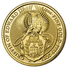 Get Cheap 2017 Great Britain 25 Pounds 14 oz Gold Queens Beasts  Griffin SKU44961