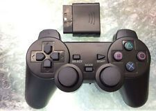 New Black Wireless Shock Game Controller for Sony PS2 LS MW Compare Prices