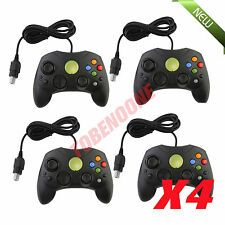 The Cheapest 4 LOT NEW Black Controller Control Pad for Original Microsoft XBOX X System SG Online