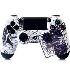 Best Savings for SONY DUALSHOCK 4 WIRELESS CONTROLLER  CUSTOM FOR PS4 PLAYSTATION 4 WHITE DRAGON