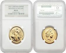 The Cheapest Great Britain Britannia 2001 Una and the Lion 50 Pounds 12 oz Gold NGC MS65 Online