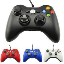 USB Wired GamePad Joypad Controller For Microsoft Xbox 360 Slim PC windows blue Under 50