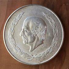 Cheap Price Mexico 5 Pesos 1953  XF Hidalgo Big Silver
