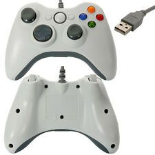 Discounted Wired Xbox 360 USB Remote Controller for PC Windows Computer White US