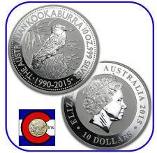 Big Discount 2015 Australia Kookaburra 10 oz Silver Coin  BU direct from Perth Mint