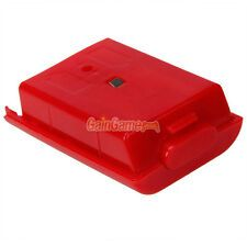Discounted 2x New Battery Pack Cover Shell Case for Xbox 360 Wireless Controller Red