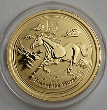 Deals For 2014 Australia Year of the HORSE Pferd 120 Oz Gold 5