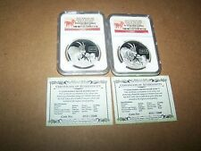 The Cheapest New listing   2015 Tokelau 1 OZ999 Silver Proof 5 Year of the Goat ERSet of 2 Online