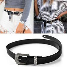 Buy Fashion Womens Lady Girls Vintage Metal Buckle Boho Leather Waist Belt Waistband Online