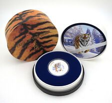 Cheapest 2010 PITCAIRN ISLANDS YEAR OF TIGER 1OZSILVER PROOF COINNZ MINT COA Online