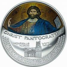 Cheapest Cook 2016 Christ Pantocrator Mosaic 5 Dollars 1oz Silver CoinProof Online