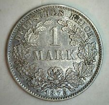The Cheapest 1875 D Silver German 1 Mark Germany Coin UNC Online