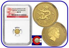 Price Comparisons 2012 Lunar Dragon 120 oz 5 Gold Coin NGC MS70 Australia Series II