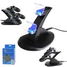 PlayStation PS4 Dual Controller LED Charger Dock Station USB Fast Charging Stand Best Price