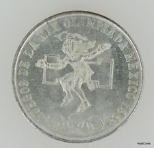 The Cheapest 1968 Silver Olympic 25 Peso Mexico Coin Uncirulated UNC BU Online