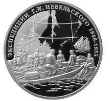 2013 RUSSIA 3 R ROUBLE SILVER PROOF 1 OZ Nevelskoy Expeditions Best Price