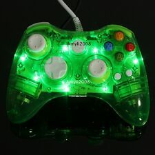 Best Savings for Green Glow Light Wired USB Gamepad Remote Controller For Microsoft Xbox 360  PC