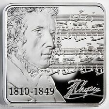 For Sale Niue 1 dollar 2010 Frederic Chopin International year of Chopin Silver proof UNC