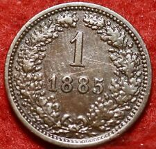 Cheap 1885 Austria 1 Krajczar Foreign Coin Free SH Online