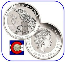 Best Reviews 2016 Australia Kookaburra 10 oz Silver Coin  BU direct from Perth Mint