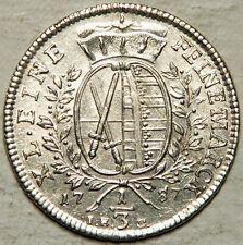 On Sale SAXONY GERMANY SILVER 13 THALER 1787