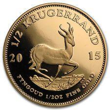 SALE 2015 South Africa 12 oz Proof Gold Krugerrand  SKU 97938