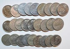 Low Price MEXICO lot 50 PESOS fifty vintage world D foreign Mexican 27 COINS