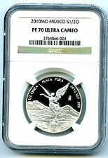 Deals For 2010 MEXICO 12 OZ ONZA SILVER PROOF LIBERTAD NGC PF70 UCAM EXTREMELY RARE