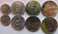 Bargain Burundi set of 4 coins 19802011 151050 francs UNC