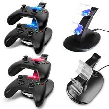 Low Priced LED USB Dual Charger Controller Fast Charging Dock Stand for Microsoft Xbox One