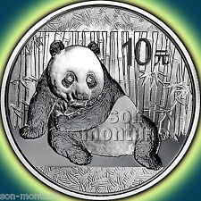 Big Discount 2015 Chinese PANDA 1 oz 999 Silver Mint Sealed in Capsule BU Bullion Coin CHINA