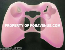 Best Savings for Microsoft XBox One  360 Pink Silicone Silicon Controller Skin Cover Case NEW