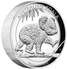 2016 Australian Koala 1 oz Dollar 1 Silver Proof High Relief Coin Australia for Sale