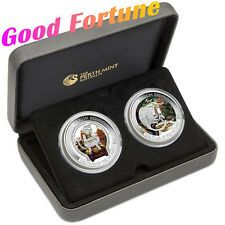 Buy Australia Lunar Good Fortune 2016 Year of Monkey 1oz Silver Proof TwoCoin Set Online