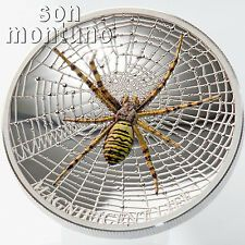 Low Price WASP SPIDER Magnificent Life Series  1oz Silver Proof Coin 2016 COOK ISLANDS 5