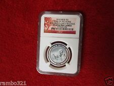 Big SALE NGC MS 69 2014 Niue Year Of The Horse 12 oz Silver Proof Coin