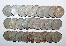 Buy Online MEXICO lot CINCUENTA CENTAVOS 50 vintage world K foreign Mexican 27 COINS