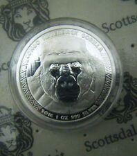 Deals For 2016 Congo 1oz Silverback Gorilla Silver Bullion Coin 5000 Francs BU